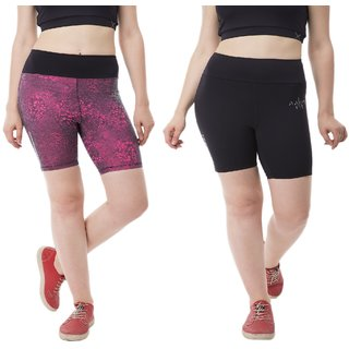 Color Club Polycotton Ladies Short (Pack of 2)