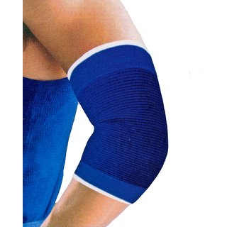 De-Ultimate Pack Of 1 Pair Fitness Gym Support Exercise Band protection Elbow Support (Free Size Multicolor)