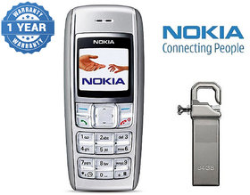 Nokia 1600 / Good Condition/ Certified Pre Owned (1 Year Warranty) with 64GB Pendrive