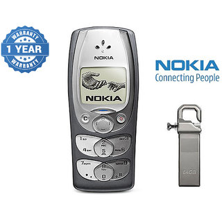 Nokia 2300 / Good Condition/ Certified Pre Owned (1 Year Warranty) With 64Gb Pendrive