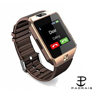 DZ09 Bluetooth Square Smartwatch With Camera/Sim Support/Voice Calling