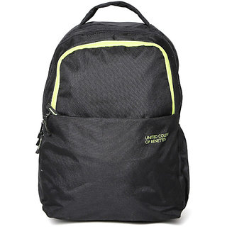 UCB  Men Black Laptop Backpack