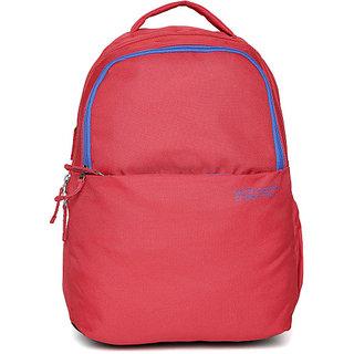 UCB Men Red Laptop Backpack