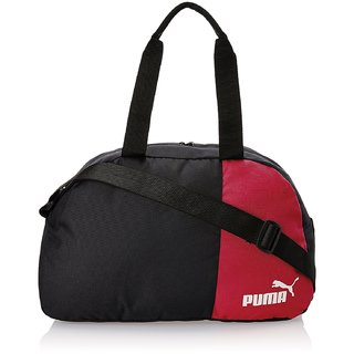 Puma Black and Puma Red Polyester Messenger Bag (7291001)