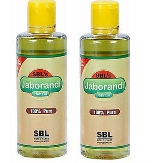 SBL Jaborandi Hair Oil 200 ML each Pack of 2 200 MLX2, 400 ML