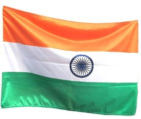 WALTZER INDIA Indian Flag Size 39 inch X30 inch For Homes/ Offices/ School/ Cricket