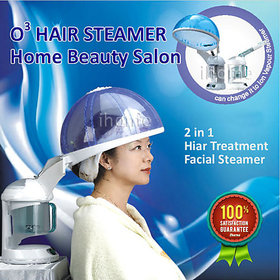 V and G   O3 Ozone Salon Hair Steamer Facial Steamer Care Aromatherapy SPA Treatment Face