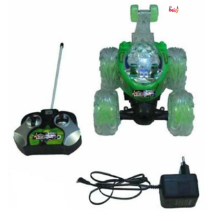 OH BABY, BABY  MUSICAL POWER WITH Remote Controlled GREEN COLOR BAN 10 with CAR FOR YOUR KIDS SE-ET-33