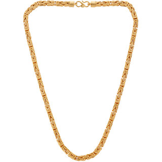 Pourni 24 kt Gold Plated 18 inch Chain For Men - 1042CHAIN18