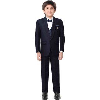 Jeet Navy Blue Coat Suit for Boys