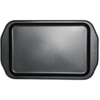 JADES Black Tin Material Nonstick Rectangle Shape Bakeware