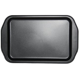 JADES Black Tin Material Nonstick Rectangle Shape Bakeware