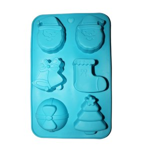 JADES Blue Silicone Material Nonstick Rectangle Shape Bakeware