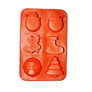 JADES Orange Silicone Material Nonstick Rectangle Shape Bakeware