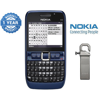 Nokia E63 / Good Condition/ Certified Pre Owned (1 Year Warranty) with 64GB Pendrive