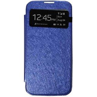 huge discount 439eb ed5d7 TBZ Window Flip Cover Case for Samsung Galaxy S4 -Blue