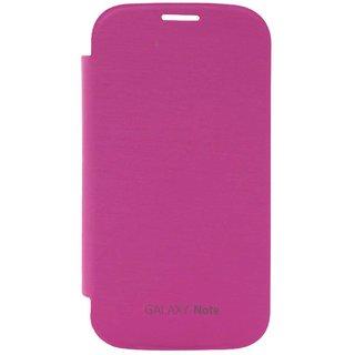 TBZ Flip Cover Case for Samsung Galaxy Note N7000 -Magenta