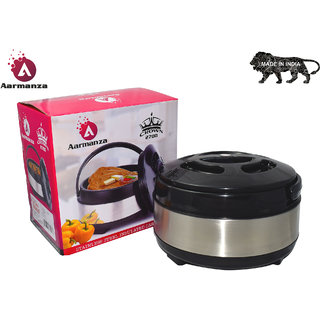 Crown 2700 Hot-Pot Insulated Casserole Food Warmer Capacity 1800 ml from AARMANZA