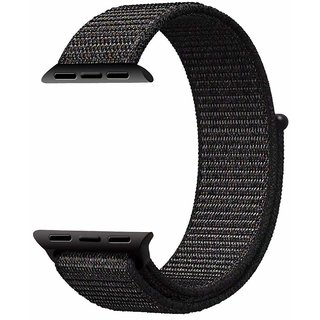 Iwatch Replacement Band By House of Quirk 42mm Breathable Woven Nylon Replacement Sport Loop Band