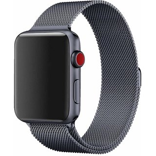House of Quirk iwatch Milanese Band Replacement Strap with Stronger Magnetic Closure (42mm)