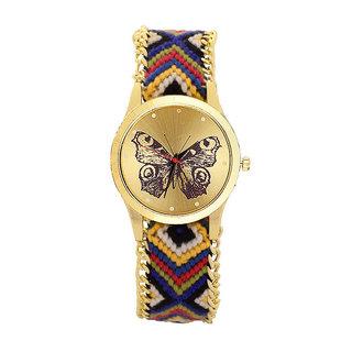 Wonder Designer Vintage Bracelet Butterfly Stylish Trendy Look Stylish Women's Special Edition Watch - For Girls