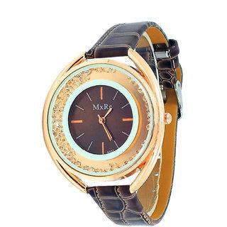 Wonder Artistic Design Strap Movable Diamond Analog Watch For Women N Girls