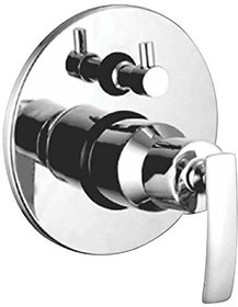Oleanna Desire Brass 4 Way Complete Divertor Set And Addons Body Of Single Lever Concealed, Mixers And Divertor For Bath And Shower System (High Quality Cartridges | Quarter Turn) Chrome