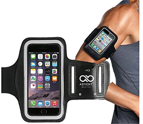 (2pic)GYM ARM MOBILE BAND/ARM BAND/ARM BAND CASE FOR UNIVERSAL WATERPROOF GYM SPORT,JOGGING,CYCLING, RUNNING PHONE POUCH