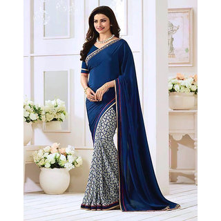 Shopcool Fashion Women's Georgette Saree 594
