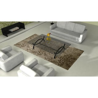Zila Home Transitional 4.6 x 6.6 WoolViscose