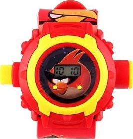 Kids Angry Bird Projector watch