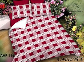 Zdecor Latest Design Double Bedsheet With 2 Pillow Covers