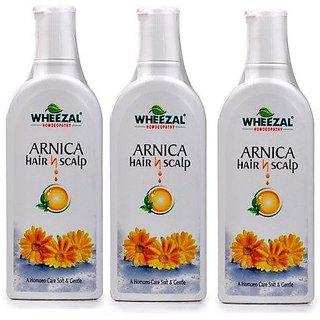 Wheezal Hair n Scalp Shampoo 100 ML each Pack of 3 100X3 , 300 ML