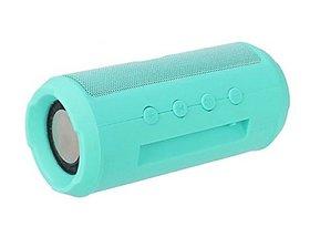Drum Speaker Woofer Bar Portable Bluetooth Speaker with Inbuilt FM radio  EZ386-CYAN