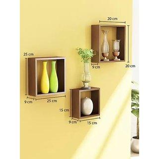 The New Look set of 3 Decorative shelf