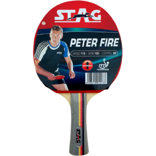 Stag Peter Fire Table Tennis Racquet