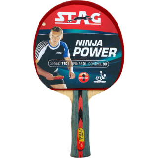 Stag Ninja Power Table Tennis Racquet
