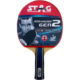 Stag Peter Karlsson Gen II Table Tennis Racquet