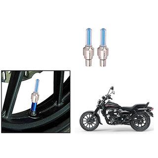 Speedwave Bike Motion Sensor Tyre LED Blue Set of 2   For Bajaj Avenger 150 Street