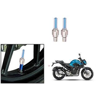 Speedwave Bike Motion Sensor Tyre LED Blue Set of 2   For Yamaha FZ25