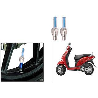 Speedwave Bike Motion Sensor Tyre LED Blue Set of 2   For Honda Activa i