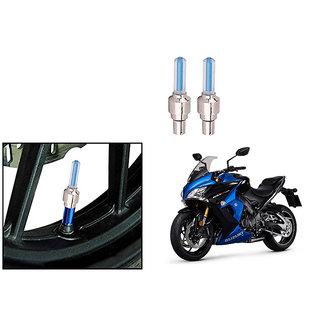 Speedwave Bike Motion Sensor Tyre LED Blue Set of 2   For Suzuki GSX-S1000F