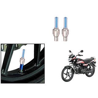 Speedwave Bike Motion Sensor Tyre LED Blue Set of 2   For Hero HF Deluxe Eco