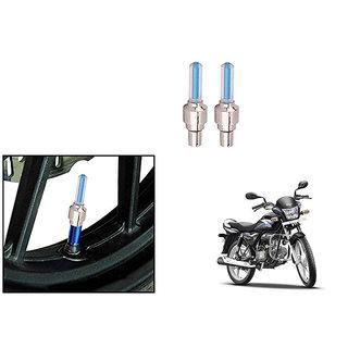 Speedwave Bike Motion Sensor Tyre LED Blue Set of 2   For Hero Splendor PRO