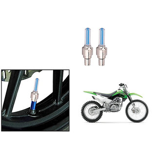 Speedwave Bike Motion Sensor Tyre LED Blue Set of 2   For Kawasaki KLX 160G
