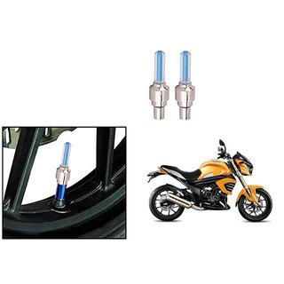 Speedwave Bike Motion Sensor Tyre LED Blue Set of 2   For Mahindra Mojo