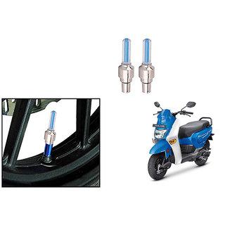 Speedwave Bike Motion Sensor Tyre LED Blue Set of 2   For Honda Cliq