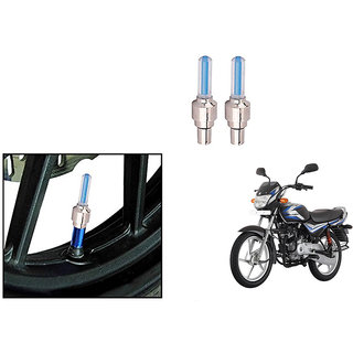 Speedwave Bike Motion Sensor Tyre LED Blue Set of 2   For Bajaj CT100