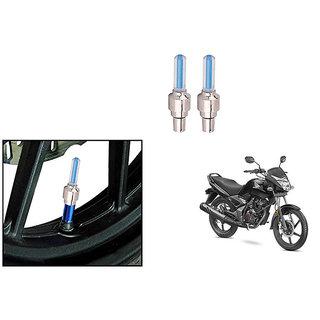 Speedwave Bike Motion Sensor Tyre LED Blue Set of 2   For Honda CB Unicorn 150