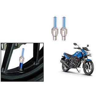 Speedwave Bike Motion Sensor Tyre LED Blue Set of 2   For Honda CB Unicorn 160